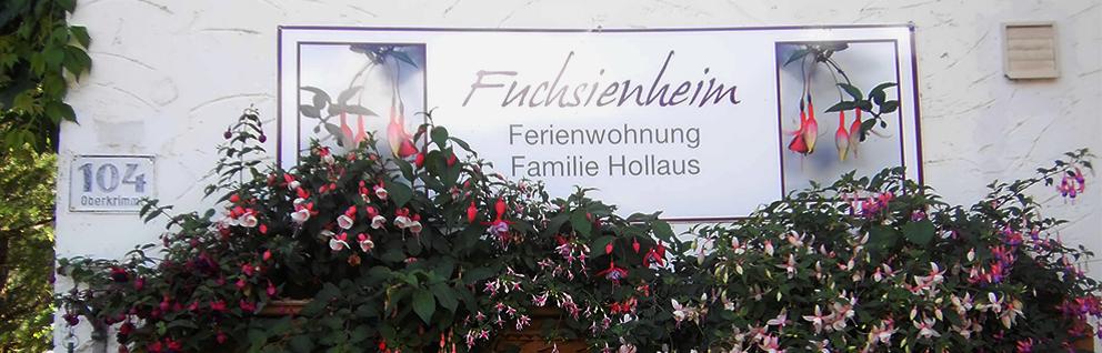 Fuchsienheim - Ferienwohnungen in Krimml